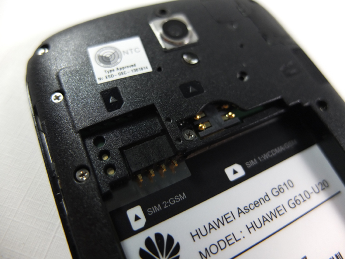 Huawei Ascend G610 Review - Dual SIM Slots