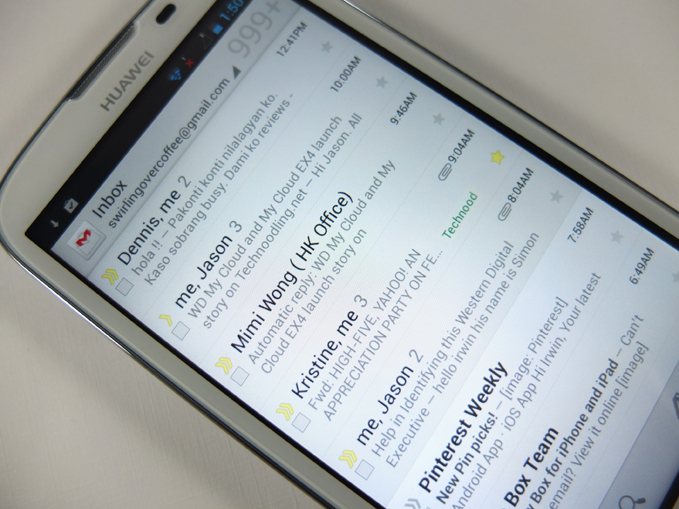 Huawei Ascend G610 Review - Clear text