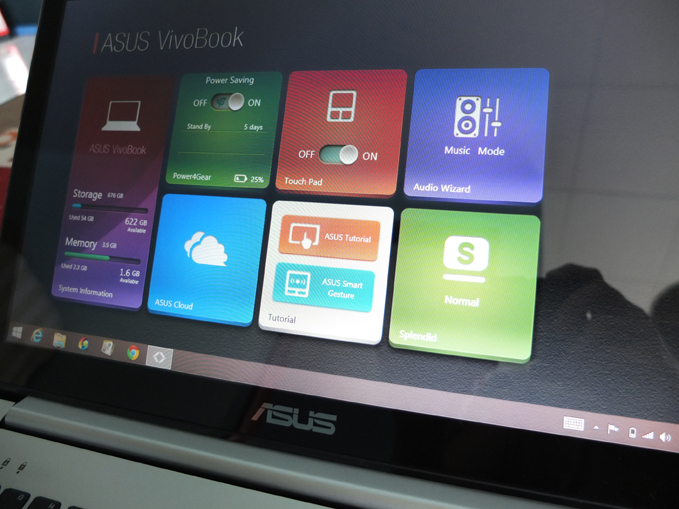 ASUS VivoBook S551 Review ASUS Installed Apps