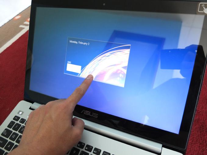 ASUS VivoBook S551 Review Closing an App