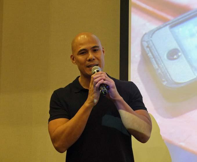 Rovilson Fernandez OtterBox Preserver Series Launch