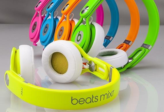 Beats Mixr Neon Colors