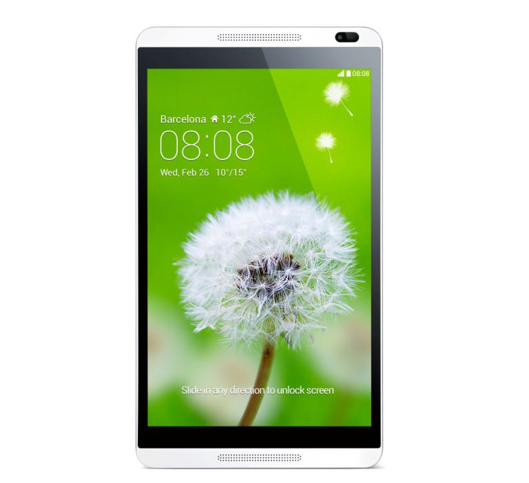 HUAWEI MediaPad M1_White_Front_Product photo_EN_JPG_20140211