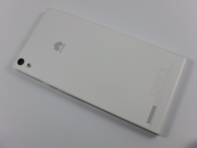 Huawei Ascend P6 Review Back Shot