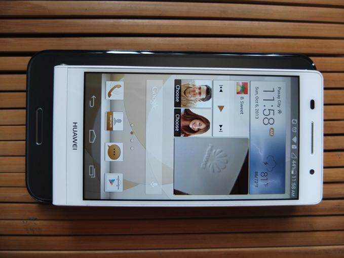Huawei Ascend P6 Review LG Optimus G Pro