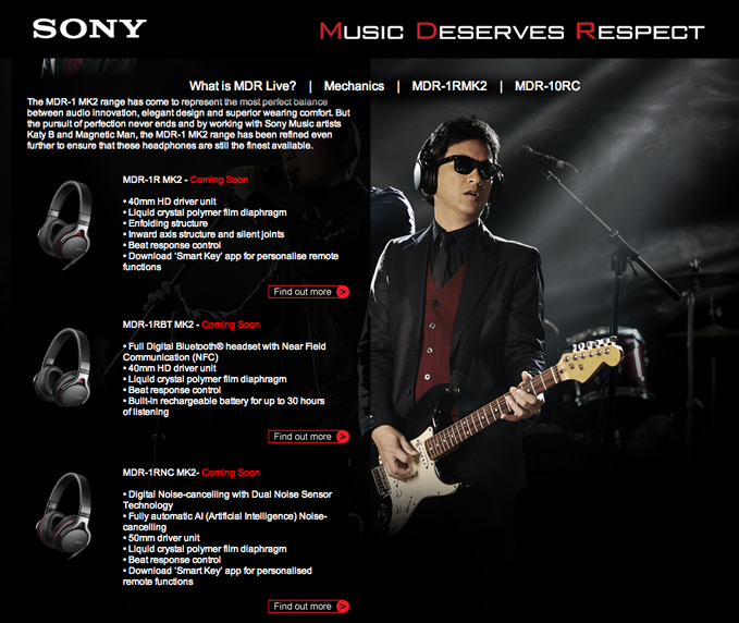 Sony Ely Buendia MDR