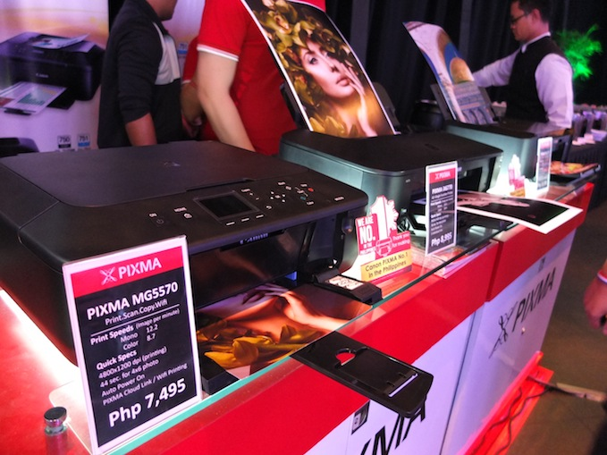 Canon Pixma Printer Launch 00