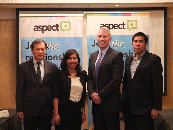 Aspect Software Executives, Philippine Launch