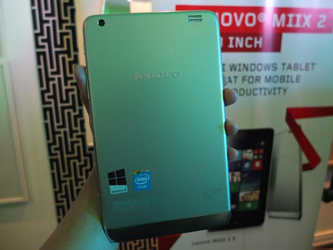 Lenovo Miix 2 8 launch, specs, price 02