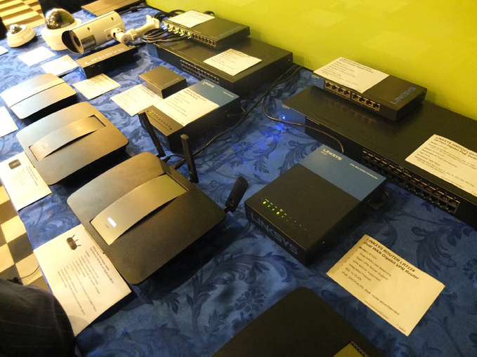 Linksys Wireless Devices, Routers, Surveillance equipment