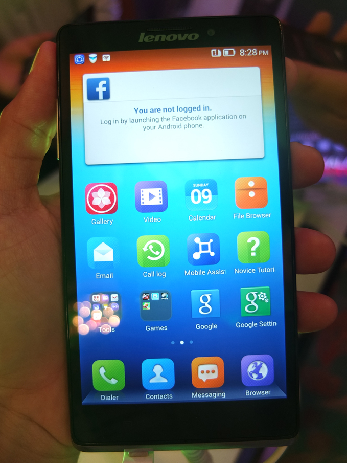 Lenovo Vibe Z LTE Launch 06