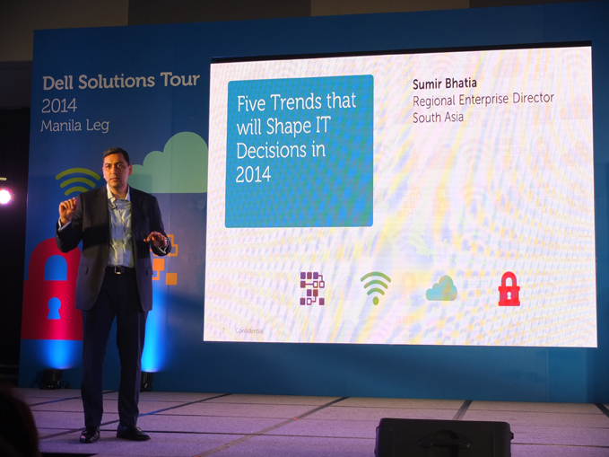 Sumir Bhatia, Dell Regional Enterprise Director, South Asia