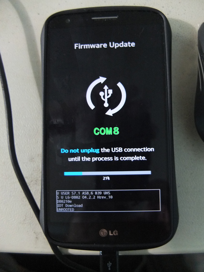 LG G2 D802 Android Kitkat Upgrade 05