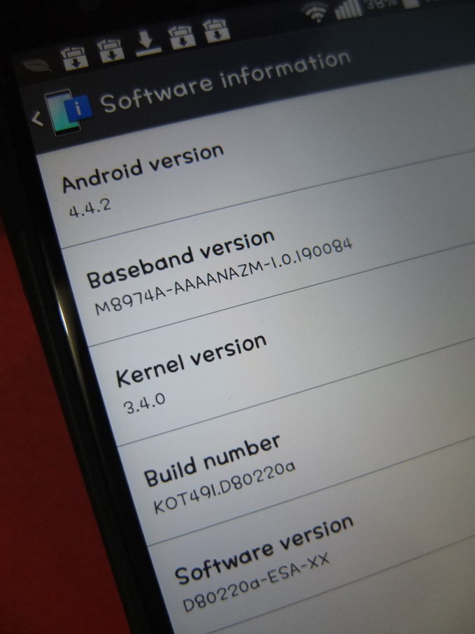 LG G2 D802 Android Kitkat Upgrade 09
