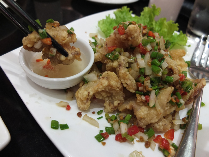 Lugang Cafe Salt and Pepper Squid 01
