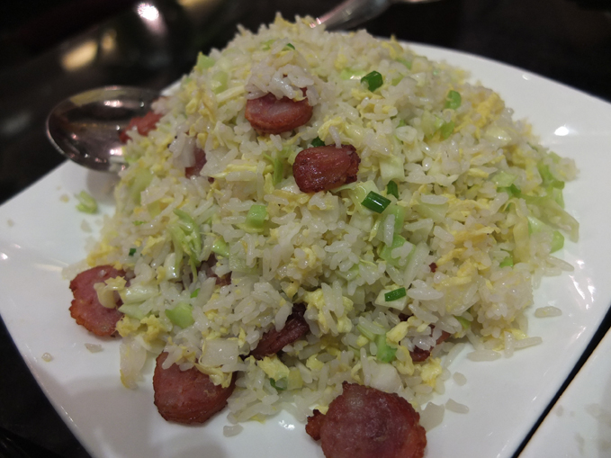 Lugang Face Fried Rice with Sausage 01