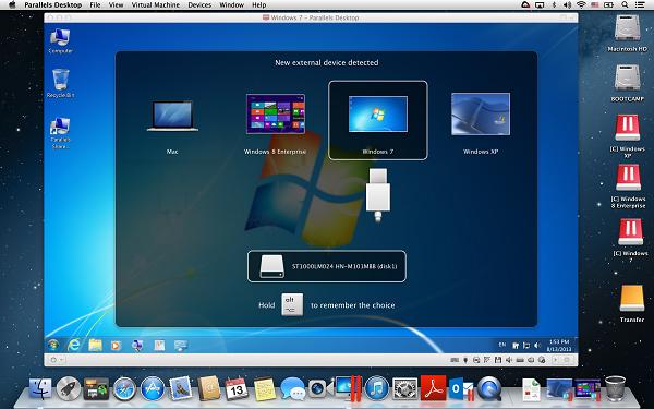 Thunderbolt_USB Heads-up dialog