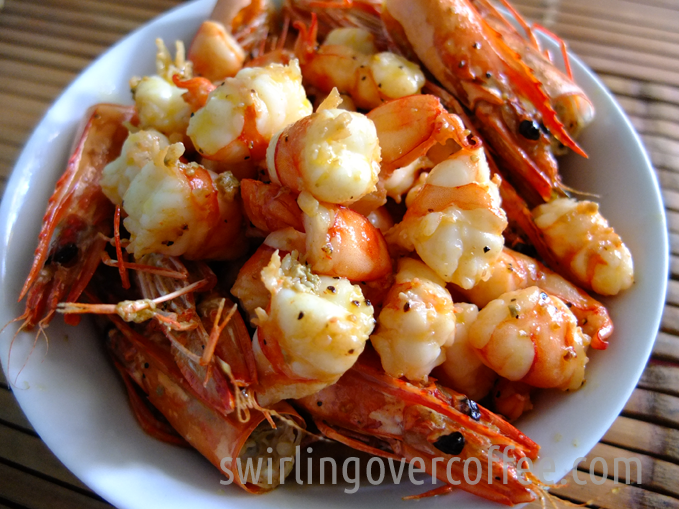 Shrim in Lemmon and Butter Sauce 00