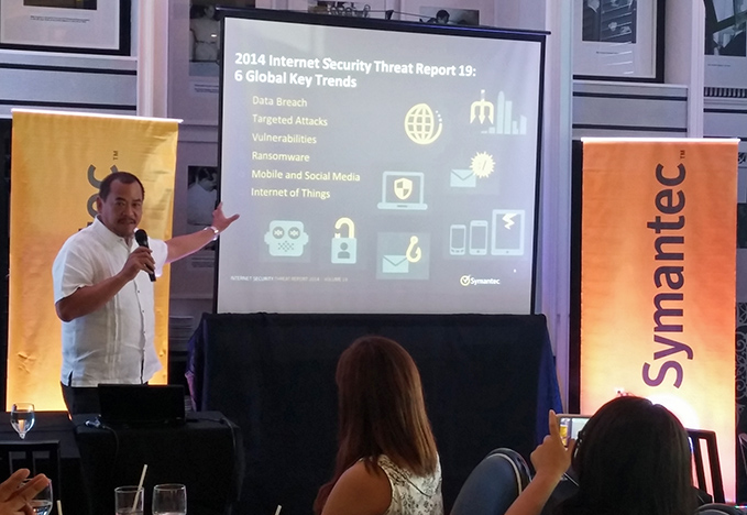 Luichi Robles, Senior Country Manager, Symantec Philippines