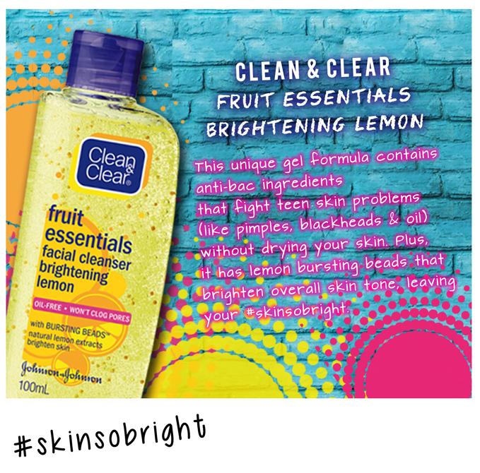 Clean & Clear Brightening Lemon