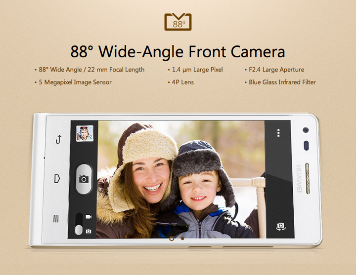 Huawei Ascend G6 Front Camera