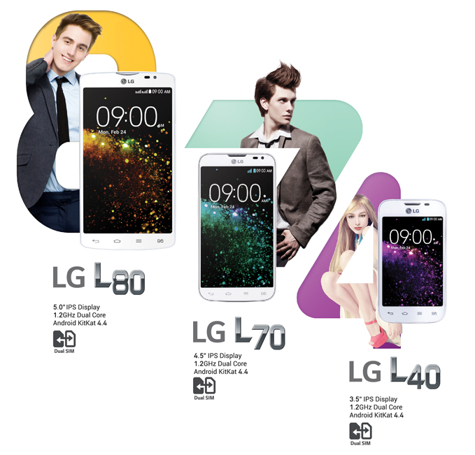 LG L Series III Line up