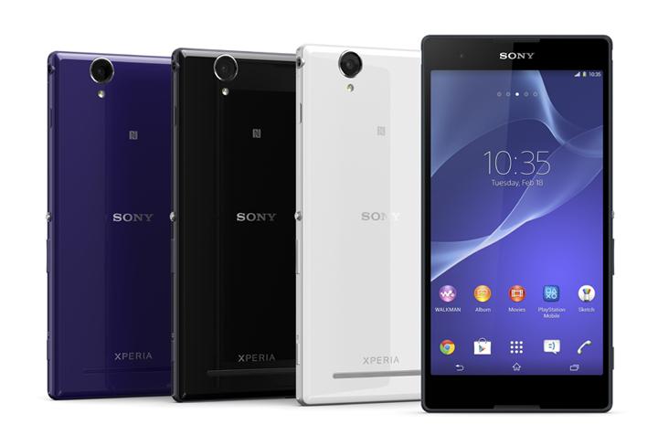 Sony Xperia T2 Ultra Color Range