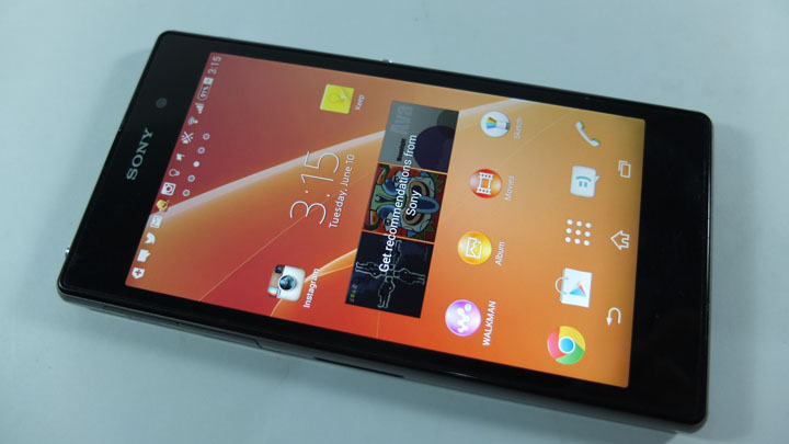 01 Xperia Z1 Front