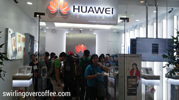 Huawei Concept Store front