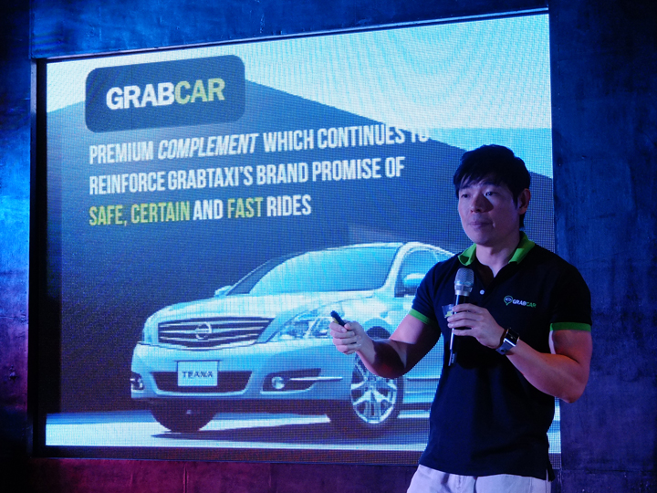 GrabTaxi CEO Anthony Tan