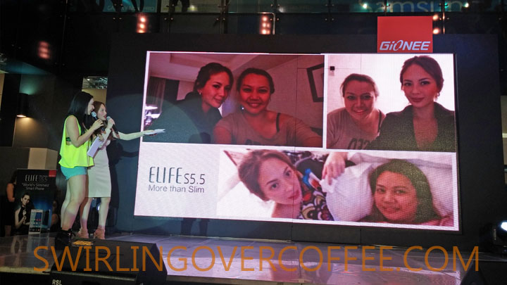 Gionee Elife S5.5 Ellen Adarna Giselle Sanchez