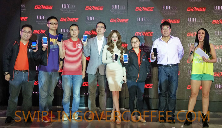 Gionee Elife S5.5 Launch