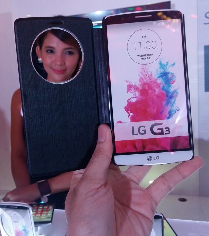 LG G3 Quick Window Case