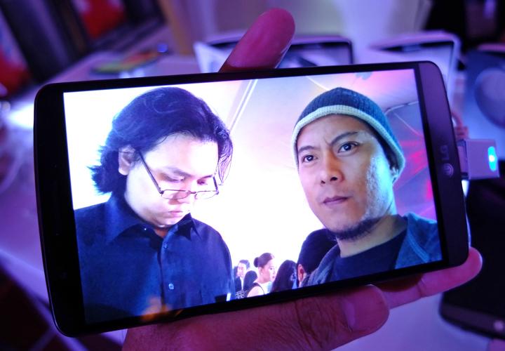 LG G3 front camera