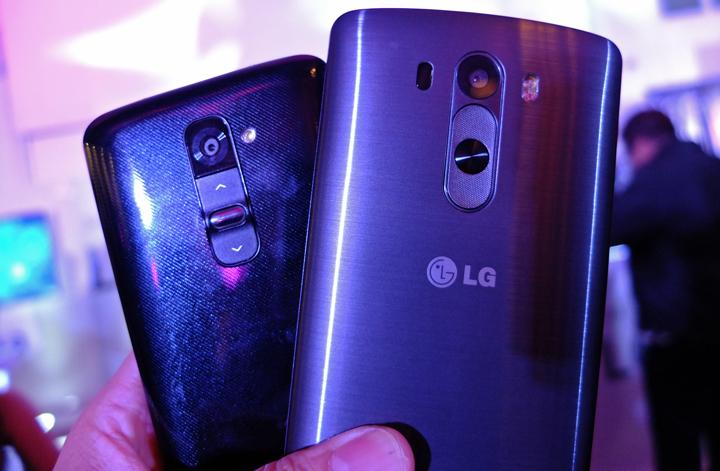 LG G3 and LG G2