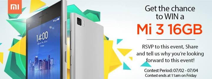 Xiaomi-Mi-3-Contest