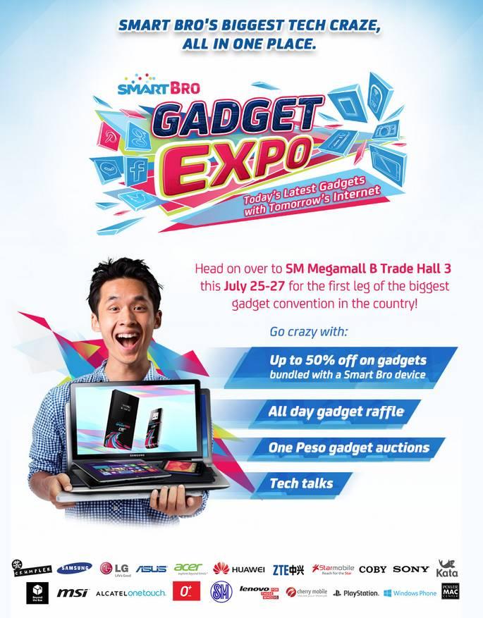 SmartBro Gadget Expo 2014