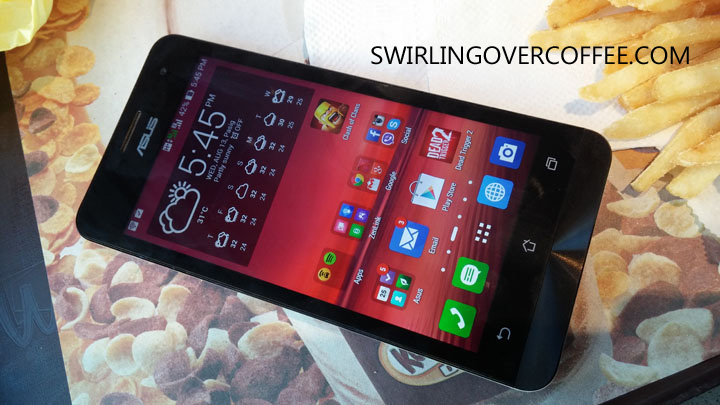 ASUS ZenFone 5 Unboxing Review McDo