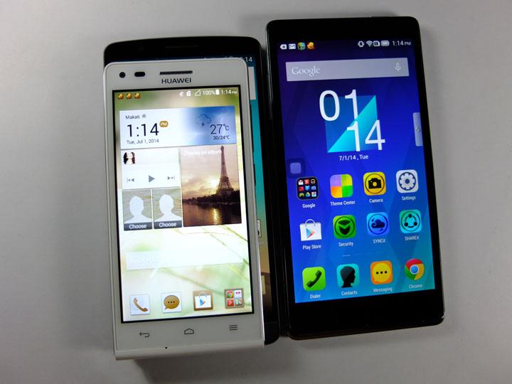 Huawei Ascend G6 Review Size Comparison