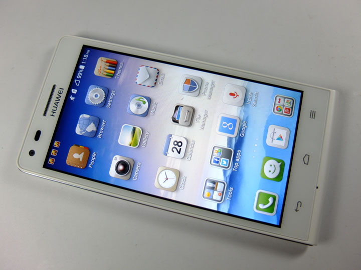 Huawei Ascend G6 Review Front