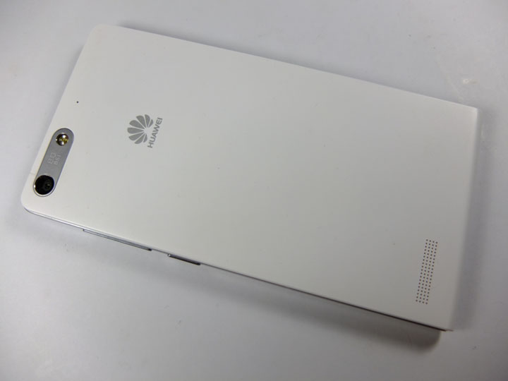 Huawei Ascend G6 Review Back