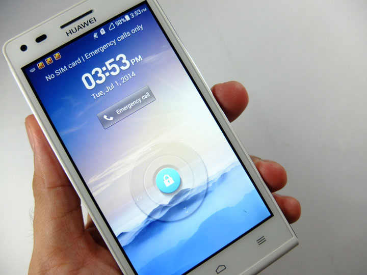 Huawei Ascend G6 Review Hand Held