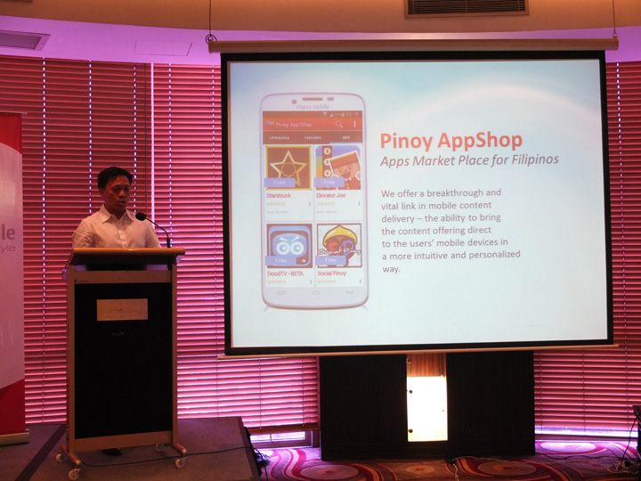 Richard Francis Cherry Mobile Pinoy AppShop