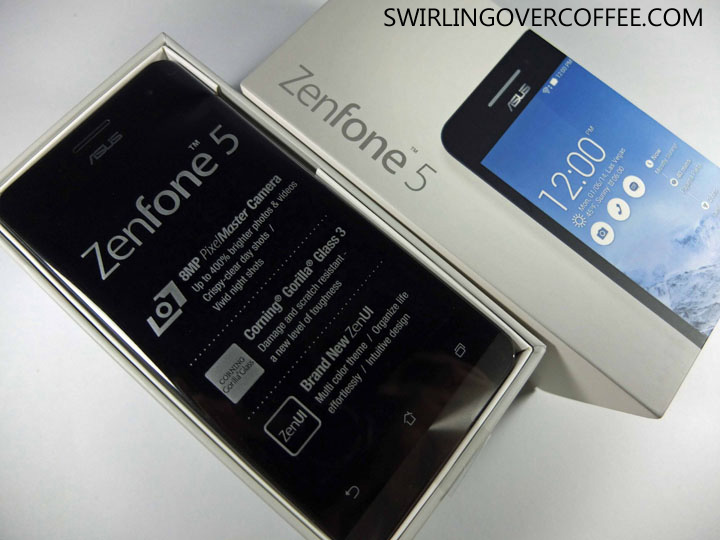 ASUS ZenFone 5 Unboxing Review Box