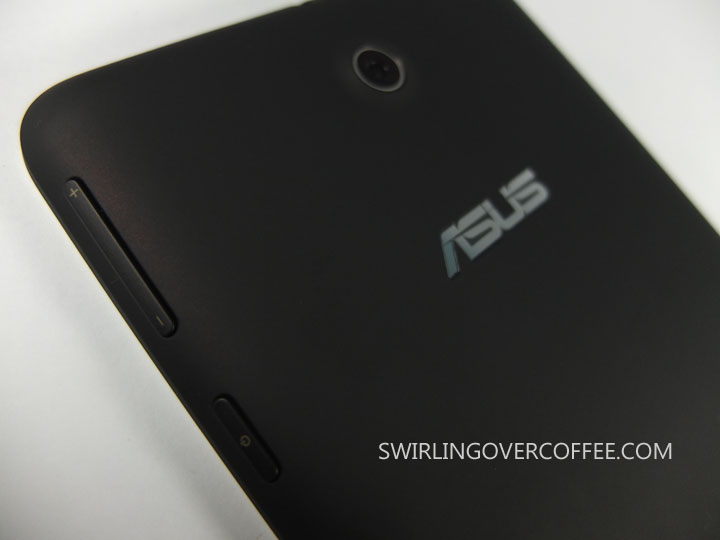 ASUS Memo Pad 7 Unboxing Rear Camera