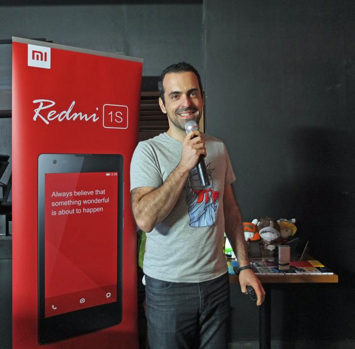 Hugo Barra Redmi 1s Launch