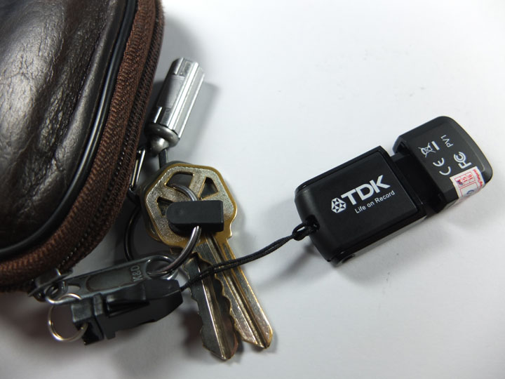 TDK Flash Drive Review Keychain
