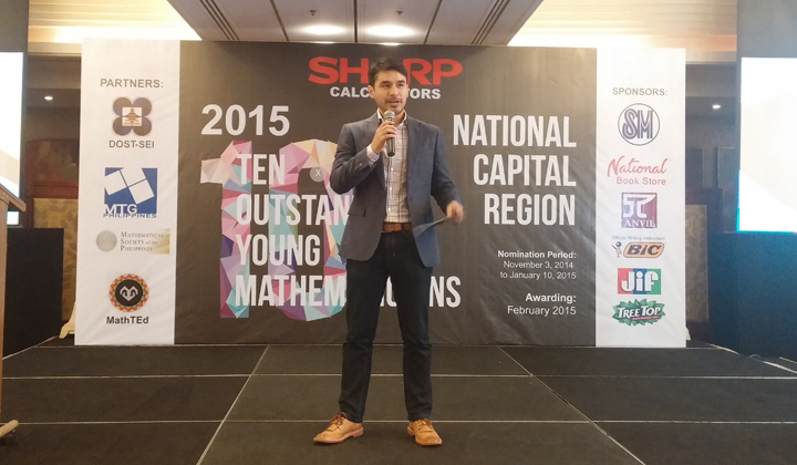 Atom Araullo Hosts the Sharp OTYM event