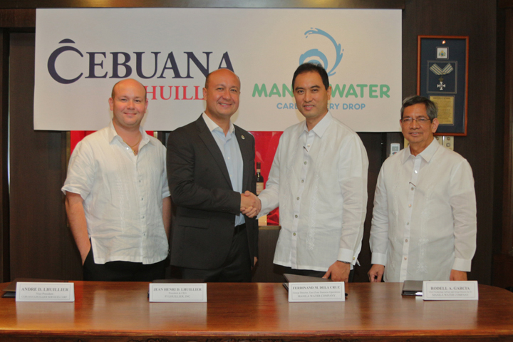 Cebuana Lhuillier ties up with Manila Water