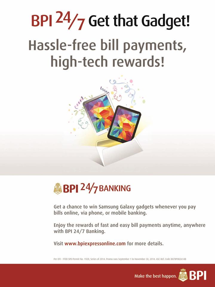 BPI Get That Gadget Poster